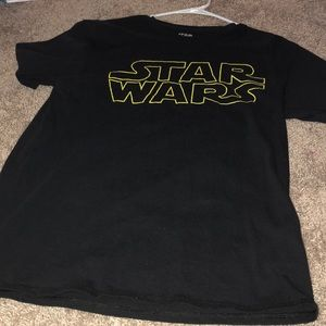 Medium Black STAR WARS Graphic Tee